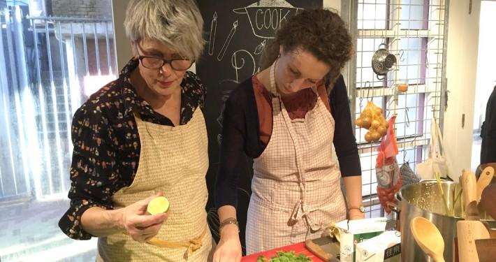 kookworkshops en kookcursussen Amsterdam voor groepen tot wel 100 personen